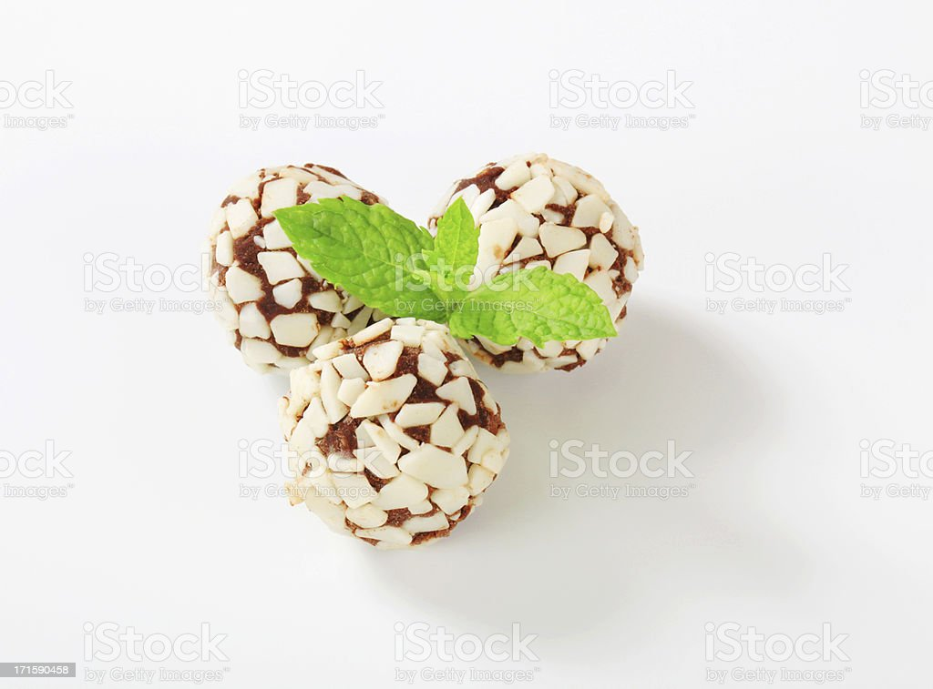 Chocolate balls royalty-free stock photo