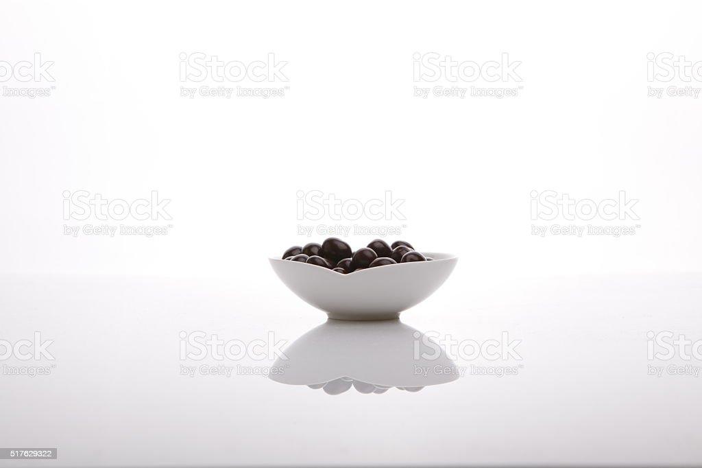 Palle di cioccolato foto stock royalty-free