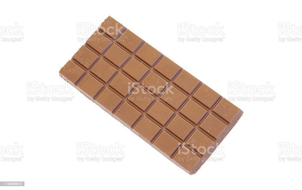Chocolate bar royalty-free stock photo