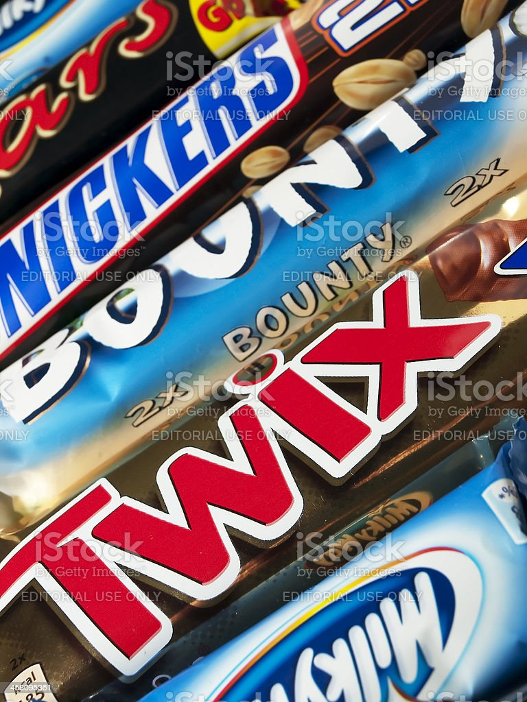 Chocolate bars royalty-free stock photo