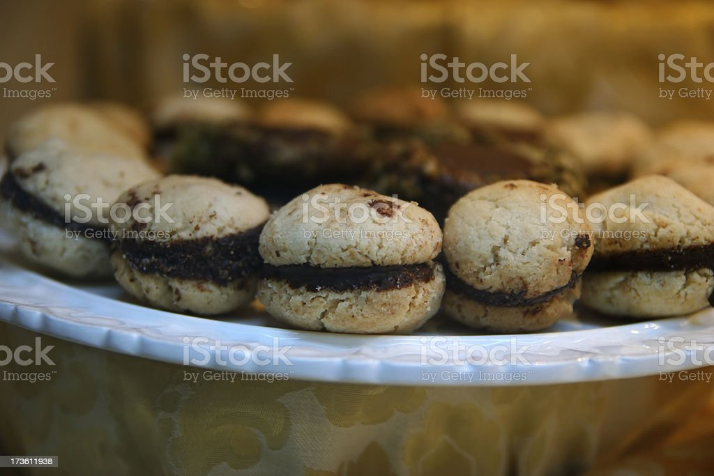 chocolate biscuits royalty-free stock photo