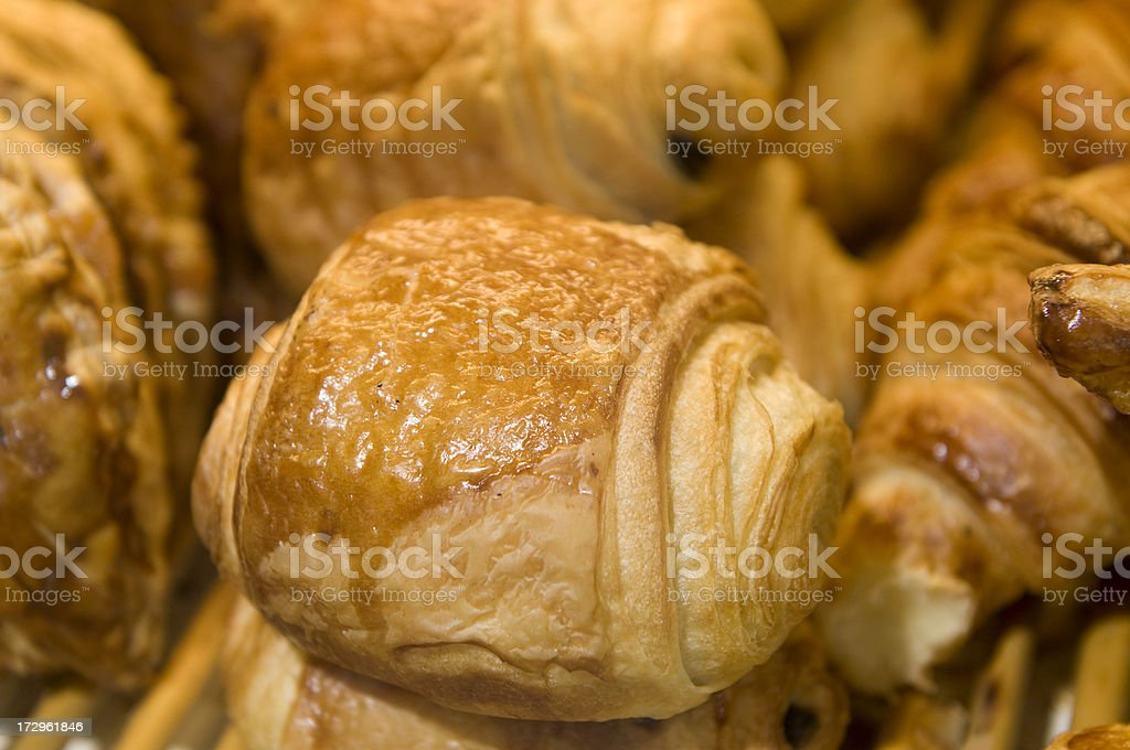 Pain au chocolat royalty-free stock photo