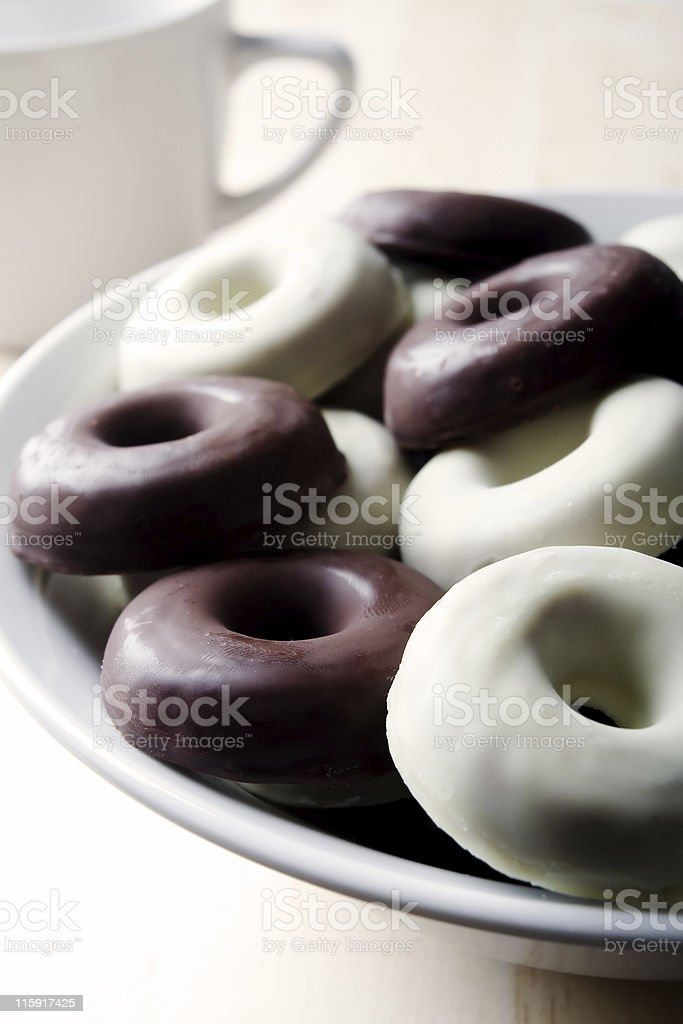 Chocolate breakfast royalty-free stock photo