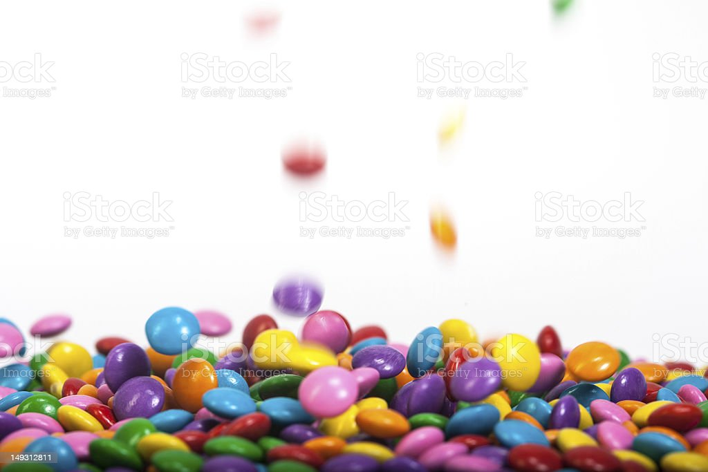Chocolate Buttons royalty-free stock photo