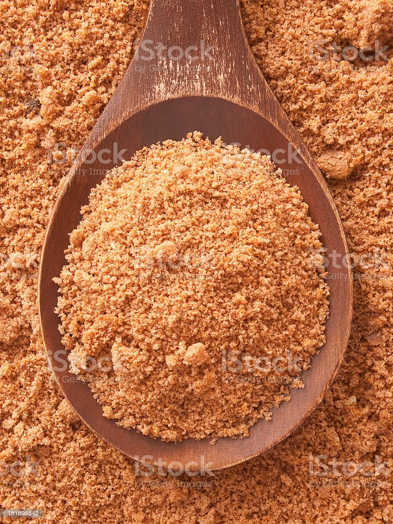 Chocolate cake crumbs royalty-free stock photo