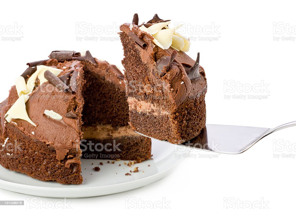 Chocolate Cake. royalty-free stock photo