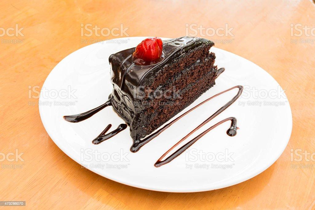 chocolate Schokoladenkuchen Lizenzfreies stock-foto