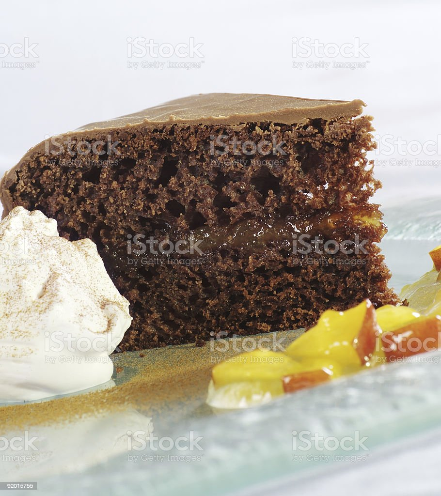 Шоколадный торт Стоковые фото Стоковая фотография