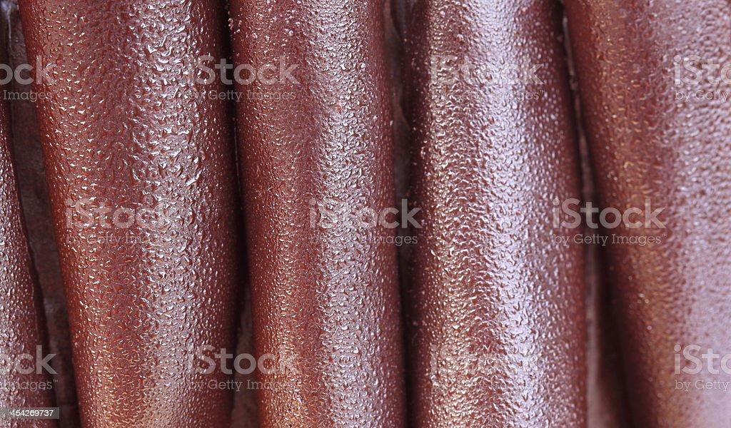 Chocolate cake surface royalty-free stock photo