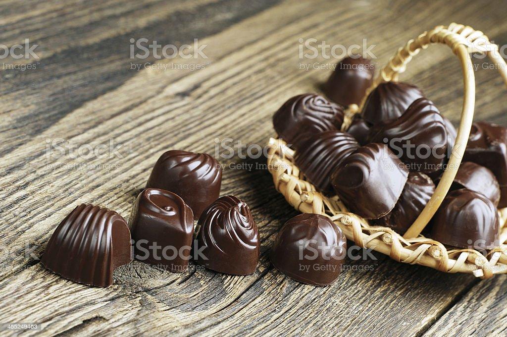Caramelo de Chocolate foto de stock libre de derechos