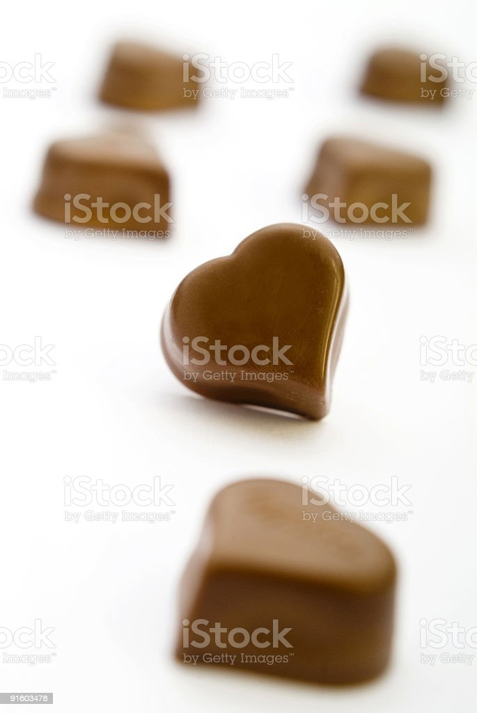 Chocolate Candy Series royalty-free stock photo