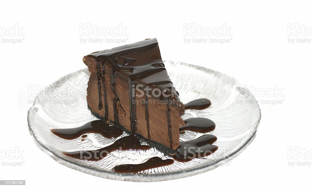 Chocolate Cheese Cake 2 royalty-free stock photo