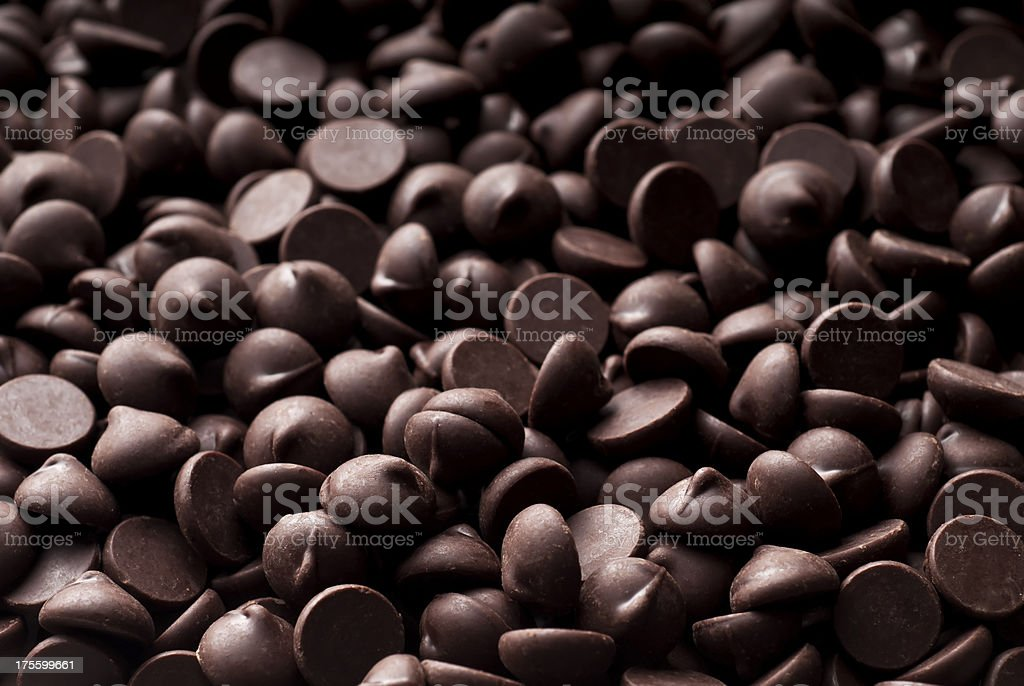 Chocolate Chip Background stock photo