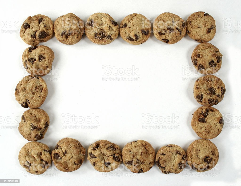 Chocolate Chip Cookie Border stock photo 115910040 | iStock