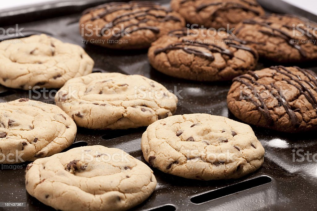 Chocolate Chip Cookie royalty-free stock photo