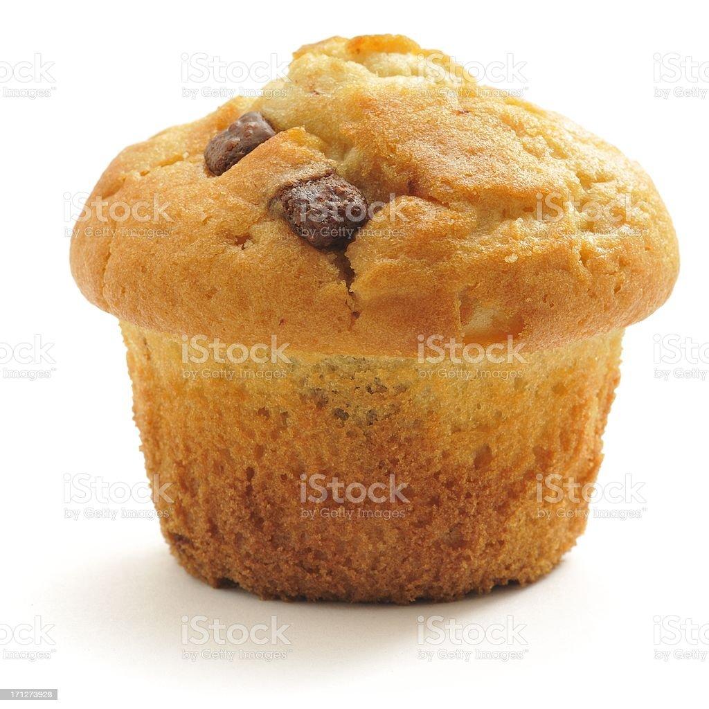 Chocolate Chip Muffin stock photo