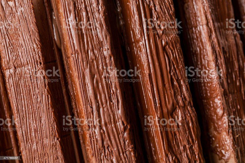 Chocolate closeup royalty-free stock photo