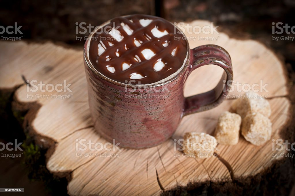 Chocolate covered Mocha stock photo