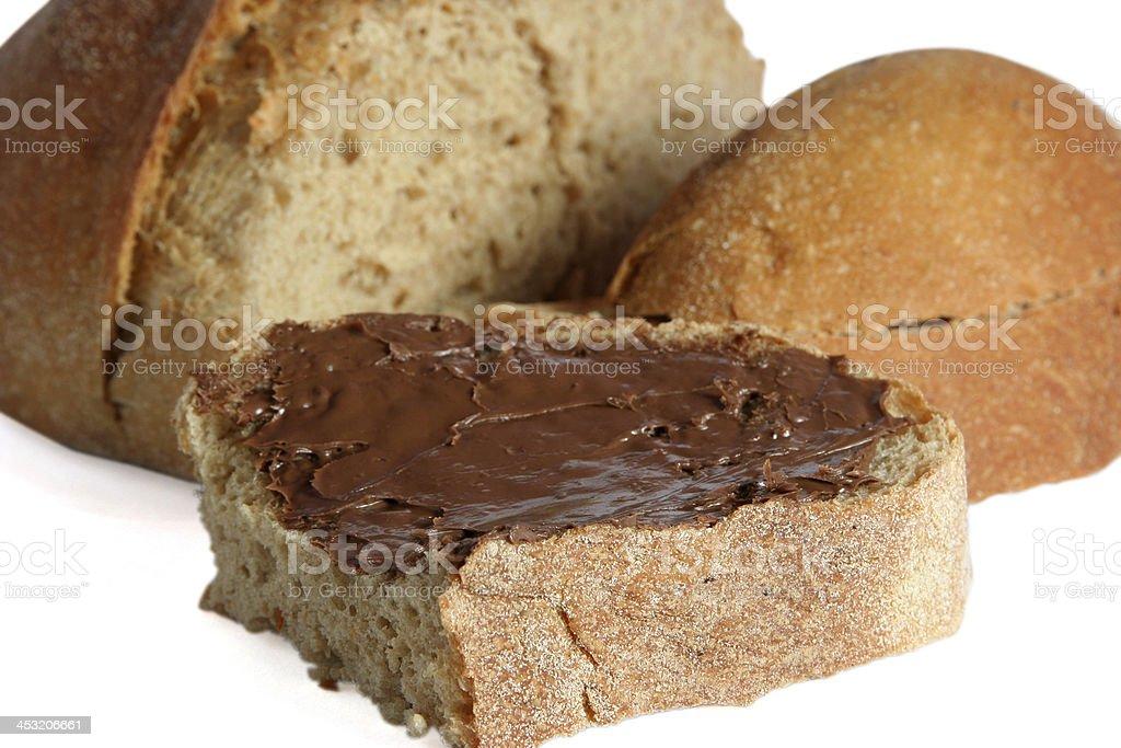 chocolate cream royalty-free stock photo