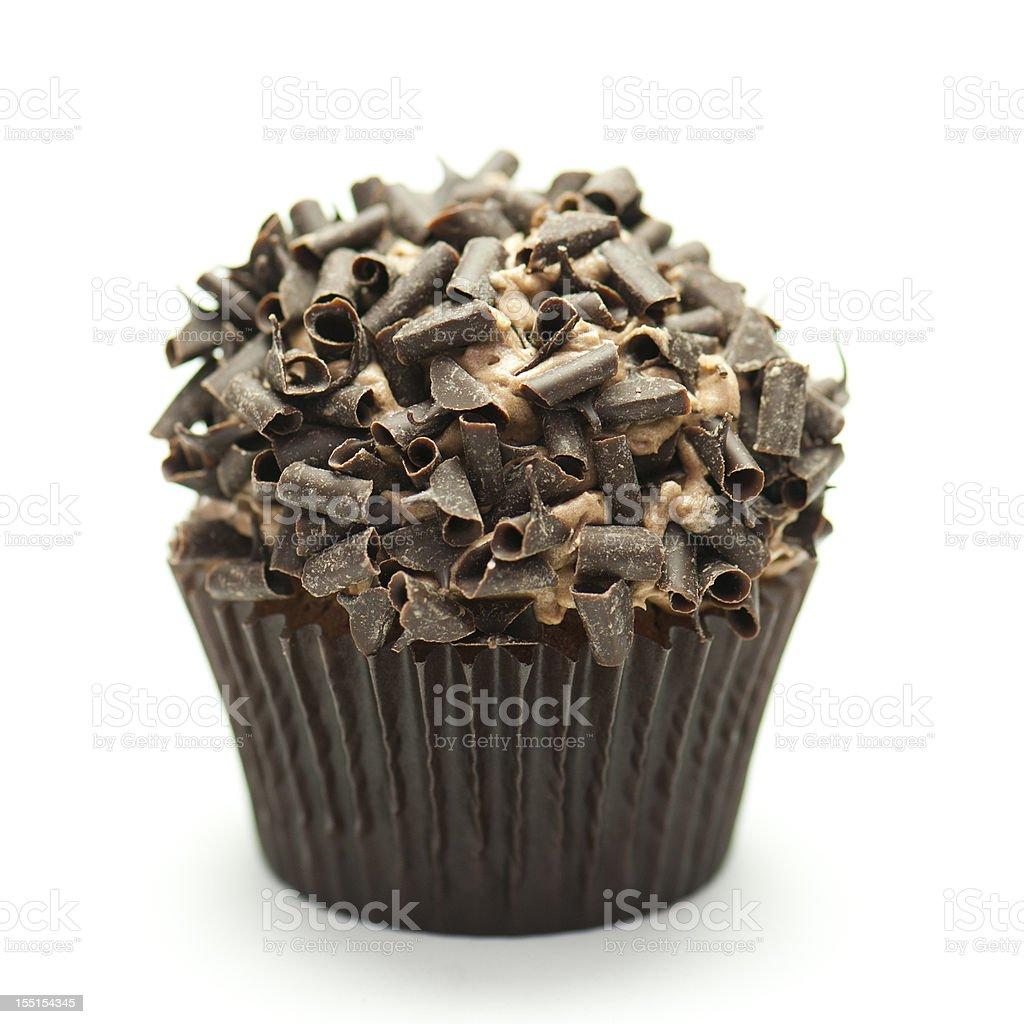 Chocolate Cupcake royalty-free stock photo