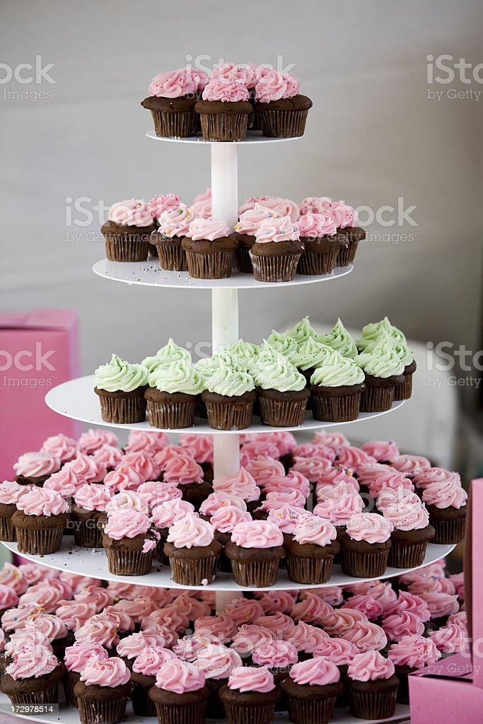 Chocolate Cupcakes royalty-free stock photo