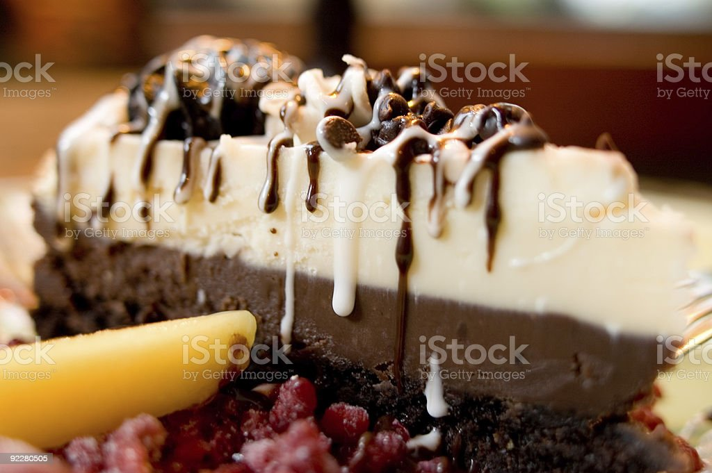 Chocolate Dessert - Dripping with Flavor royalty-free stock photo