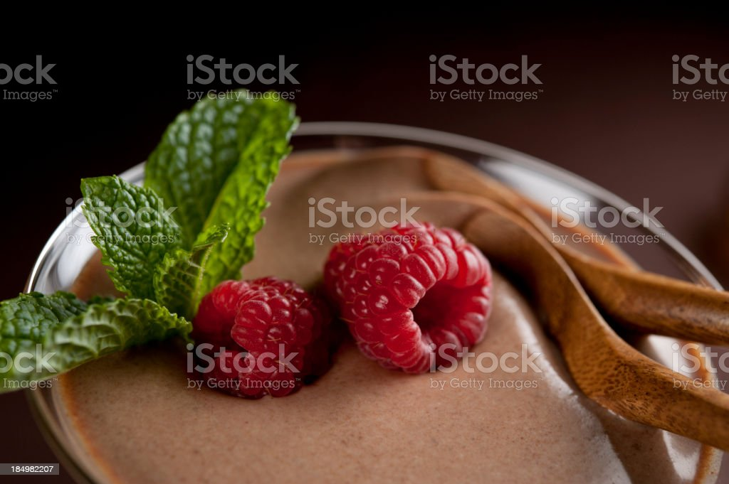 Chocolate Dessert for Two royalty-free stock photo