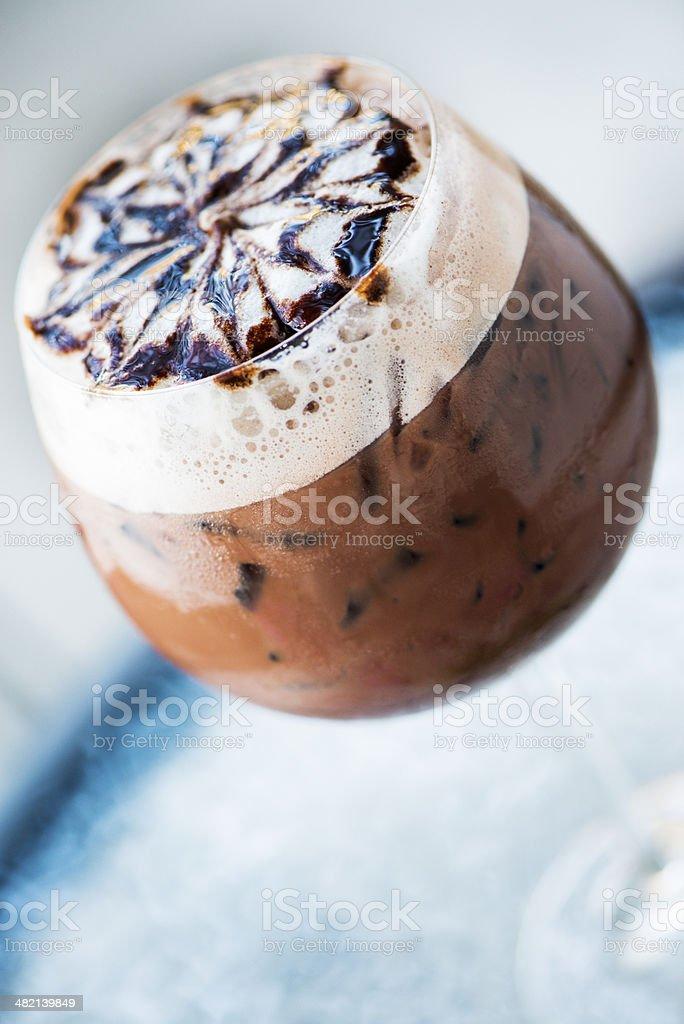 Chocolate drink royalty-free stock photo