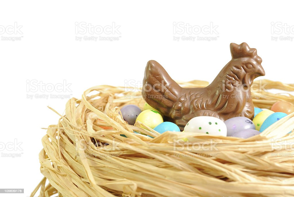 Chocolate easter royalty-free stock photo