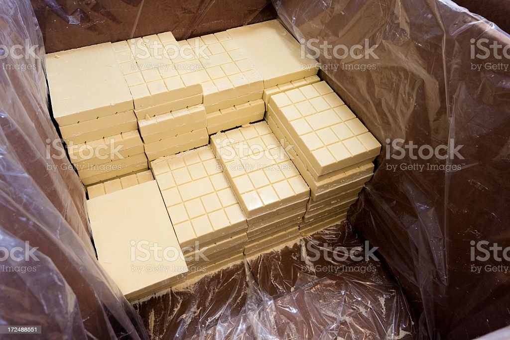 Chocolate Factory royalty-free stock photo