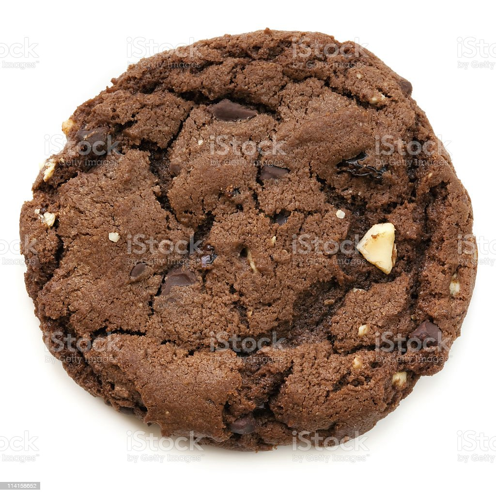 Chocolate Fudge Cookie stock photo