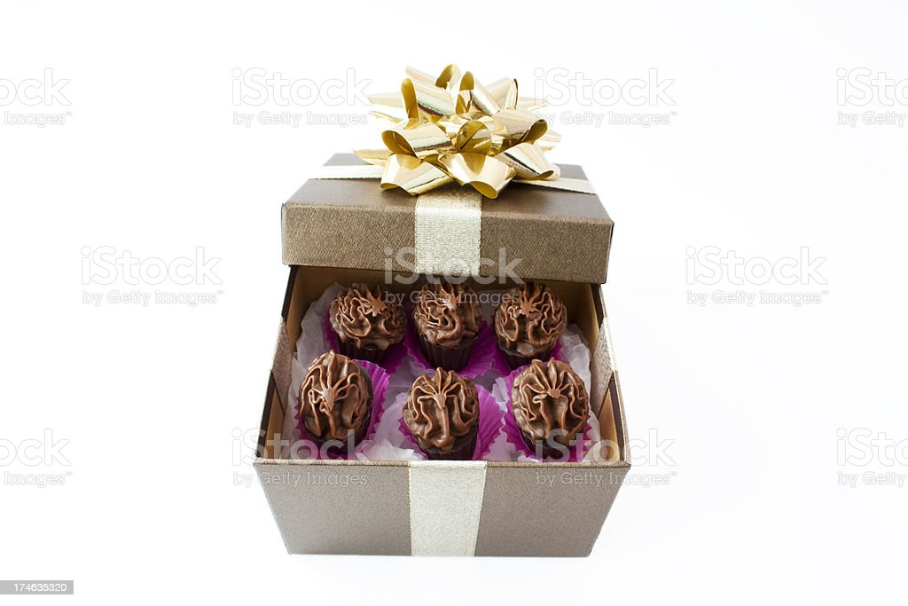 Chocolate Gift Box royalty-free stock photo
