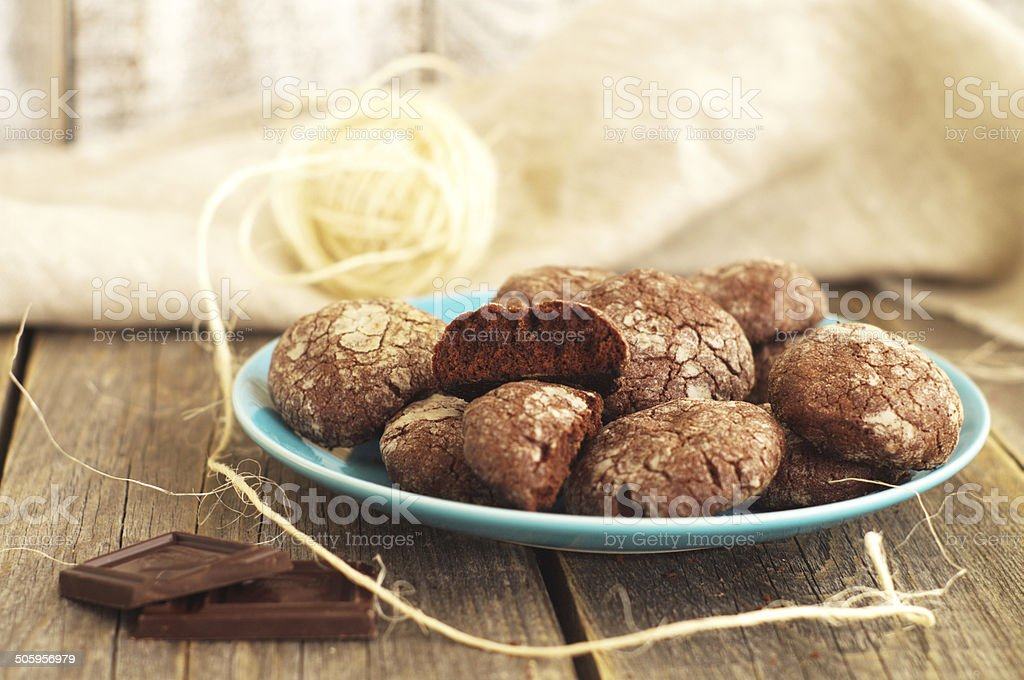 chocolate gingerbread stock photo