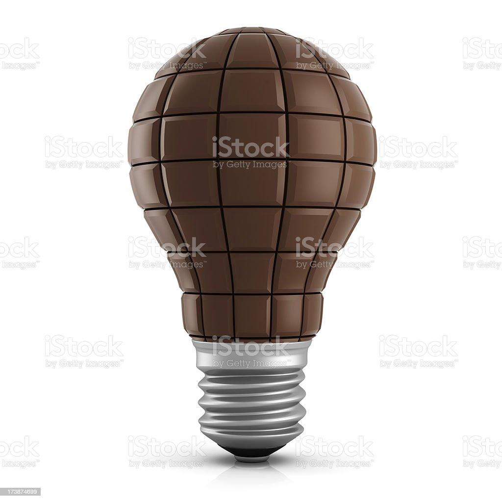 Chocolate Idea royalty-free stock photo