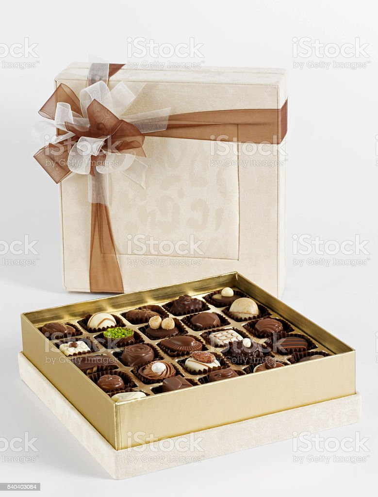 Chocolate Is The Best Gift stock photo