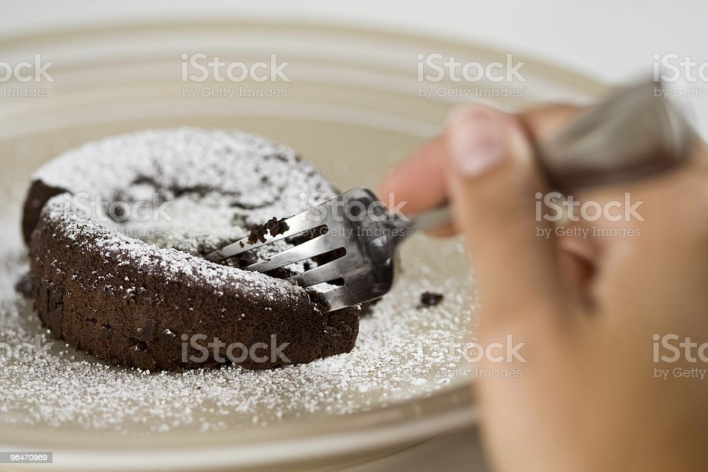 Chocolate Lava royalty-free stock photo