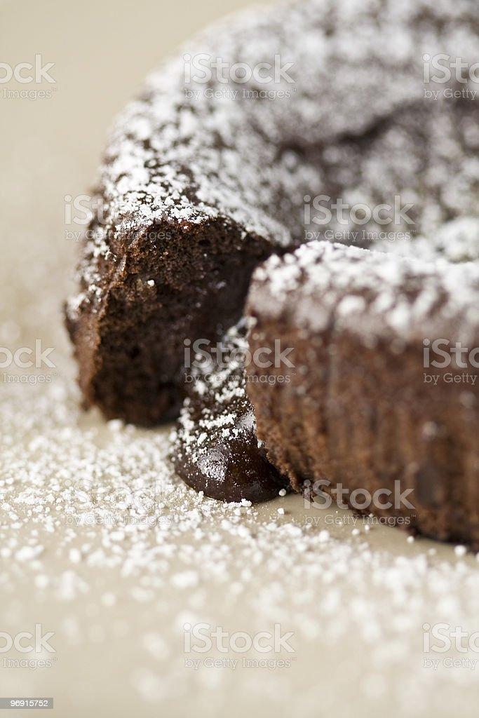 Chocolate Lava stock photo