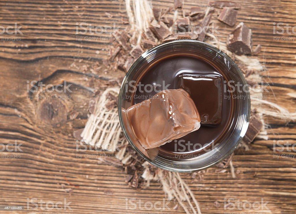 Chocolate Liqueur stock photo