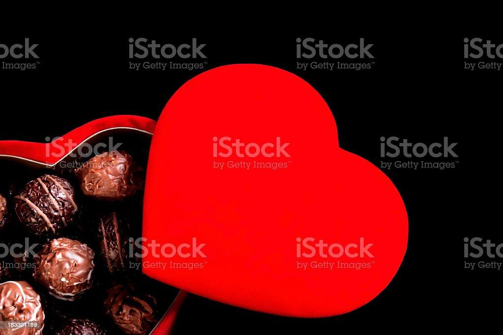 chocolate love stock photo