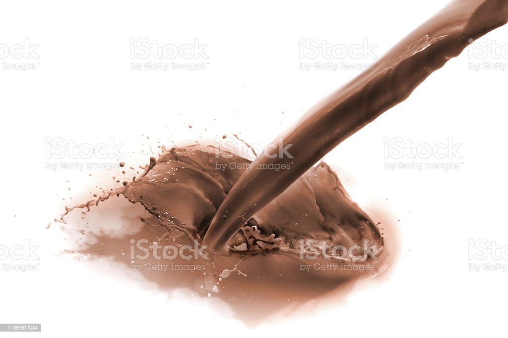 chocolate milk royalty-free stock photo