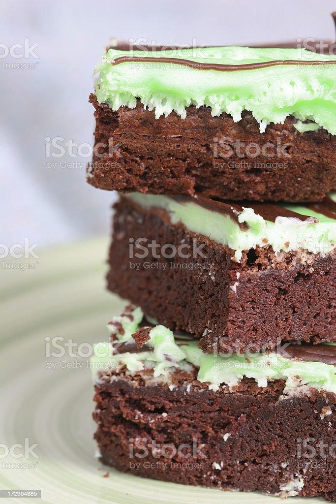 Chocolate Mint royalty-free stock photo