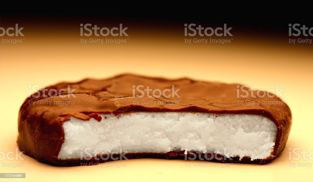 Chocolate Peppermint royalty-free stock photo