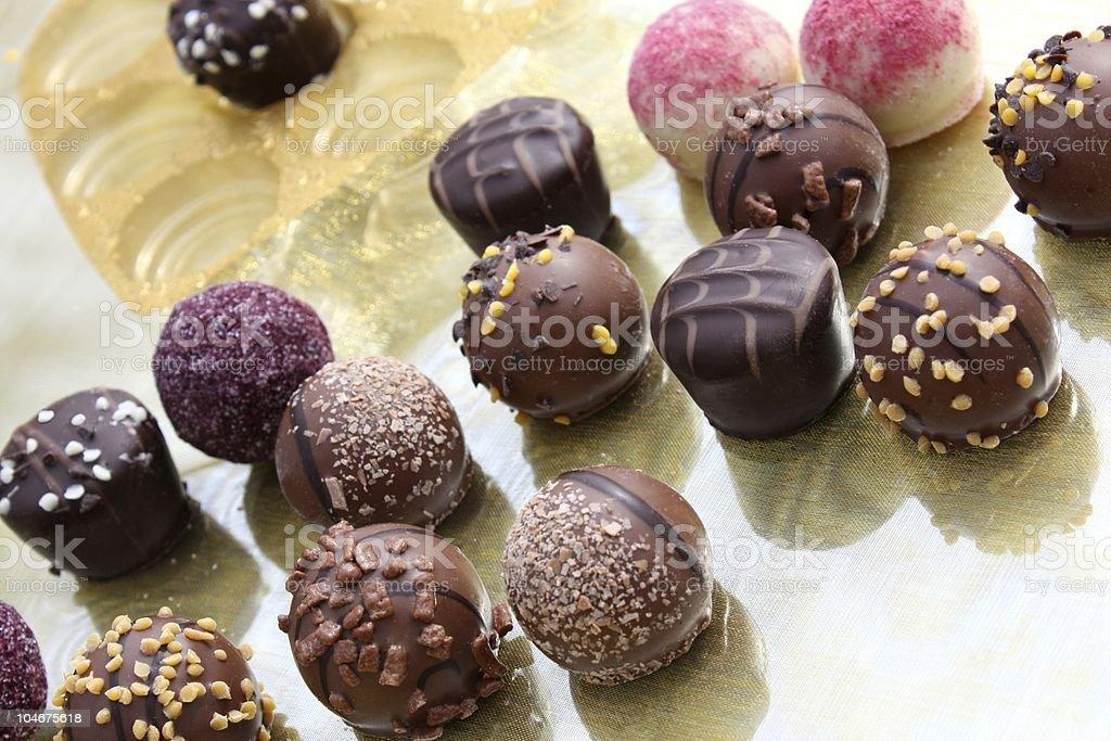 Au chocolat photo libre de droits