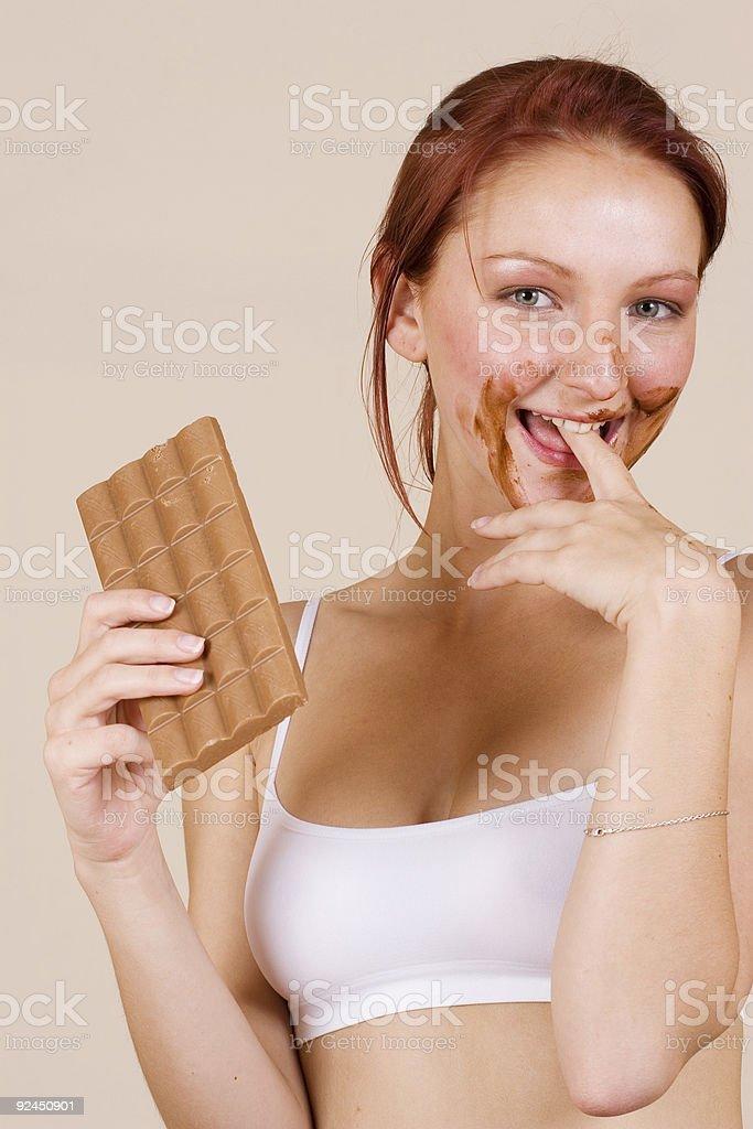 chocolate #1 royalty-free stock photo