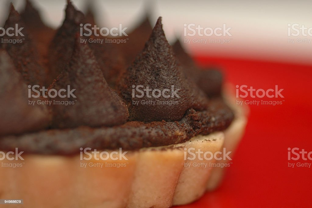 Chocolate Pie royalty-free stock photo