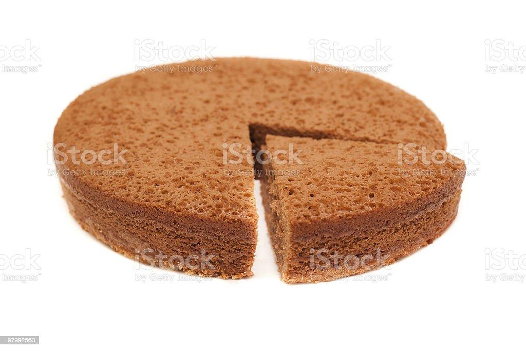 chocolate pie royalty-free stock photo