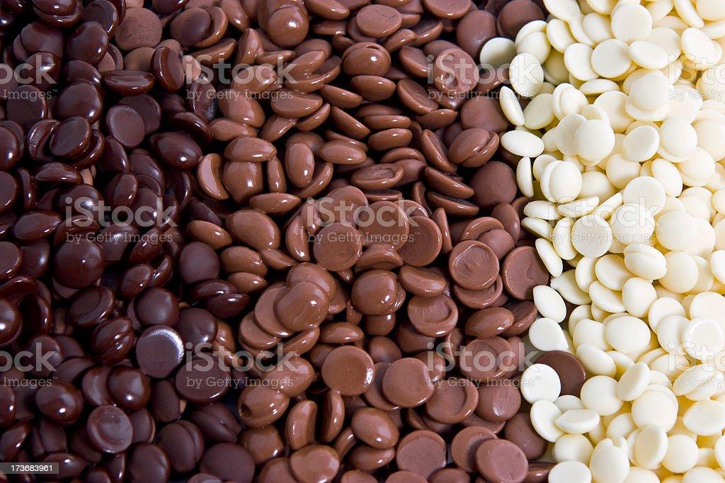 Chocolate Rainbow royalty-free stock photo