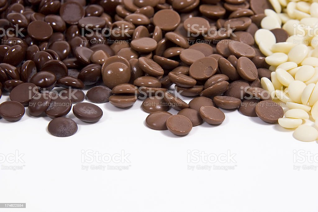 Chocolate Rainbow royalty-free stock photo
