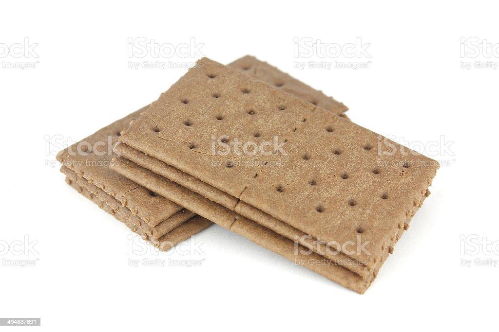 chocolate sandwich crackers and chocolate cream stock photo