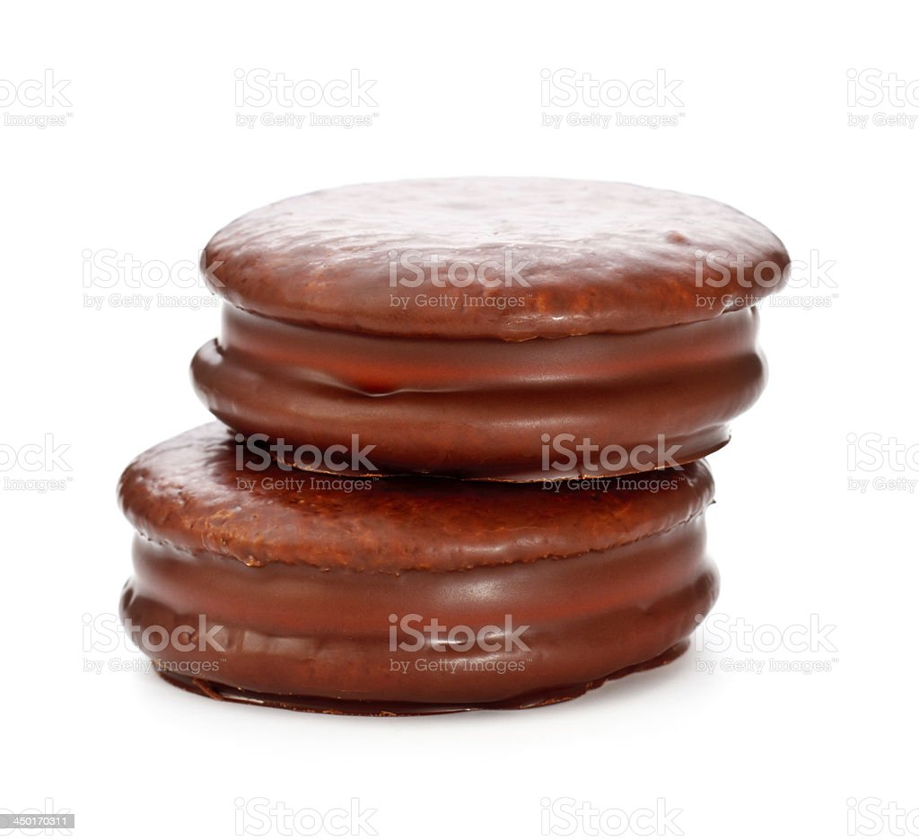 Chocolate Sandwitch Biscuits royalty-free stock photo